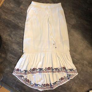 Hi Lo Maxi Skirt